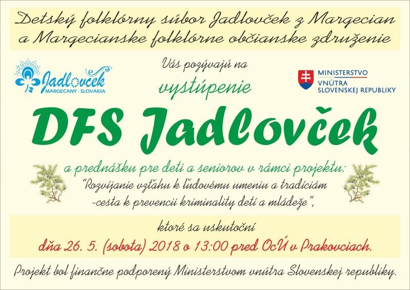 plagát projekt MV SR prakovce
